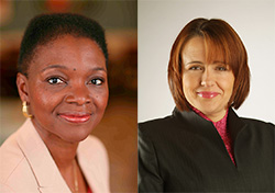 Honorary Awards for Baroness Amos and Baroness Grey-Thompson