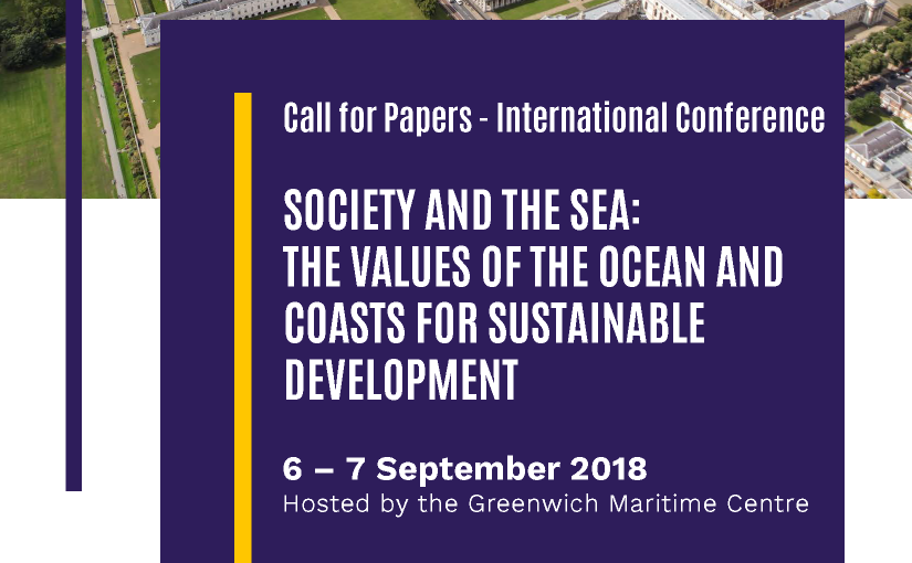 Call for Papers: LAST WEEKEND TO SUBMIT! Society and the Sea.