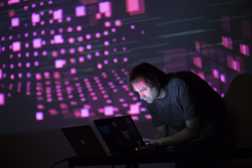 Alo Allik performs at Sound / Image 2015